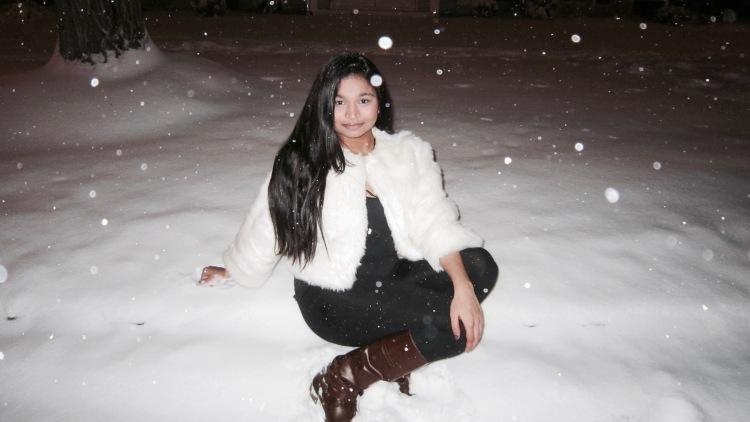 Maitri Patel | Elegance of Simplicity | Snow | Outfit | Fashion | Elegance Of Simplicity