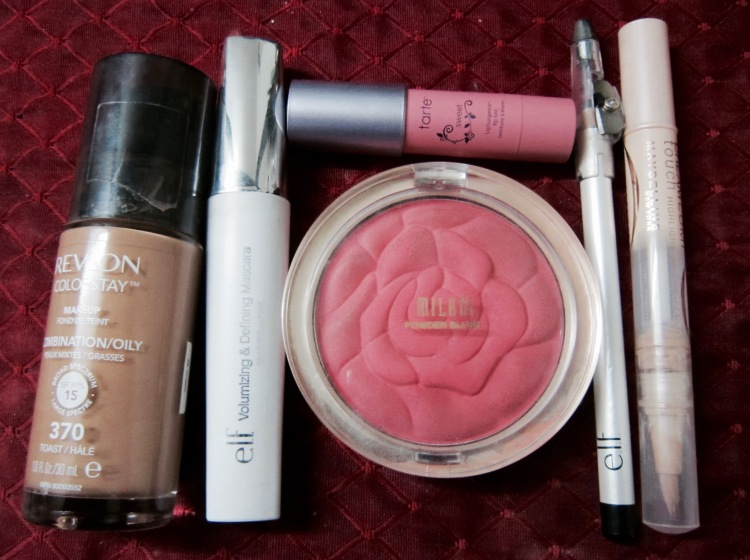 makeup   Milani   tart   Elf   revlon